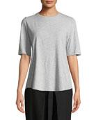 Eileen Fisher Mélange Organic Cotton Shirt and Matching