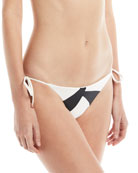 Wave Tie-Side Swim Bottom