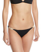 Julie Rope-Strap Swim Bikini Bottom