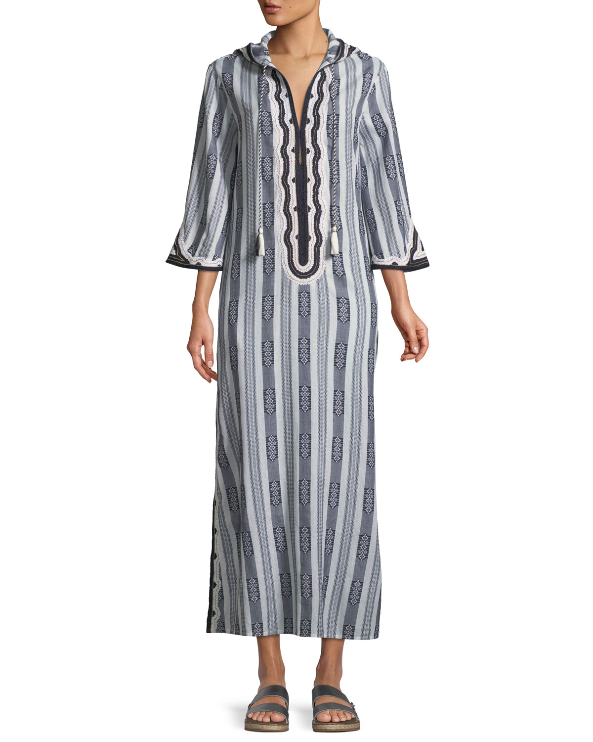 Corbin Runway Hooded Caftan