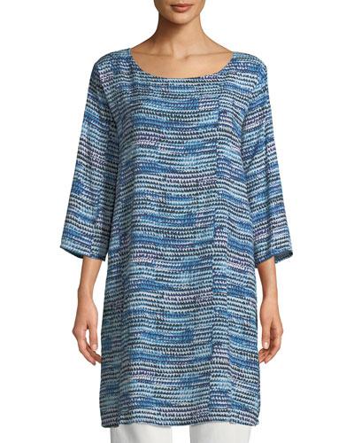 Gerlinda 3/4-Sleeve Tunic Dress