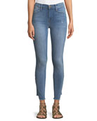 Le High Skinny-Leg Jeans with Gusset Step