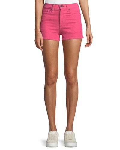 Justine Slim-Fit Denim Shorts