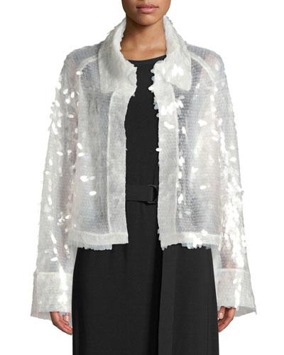 All Over Sequin Short Jacket