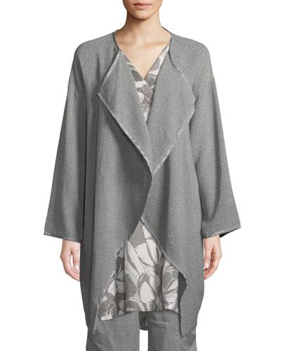 Janet Boucle Power-Loom Jacket