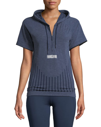Run Ultra Primeknit Hooded Short-Sleeve Prime-Knit Tee