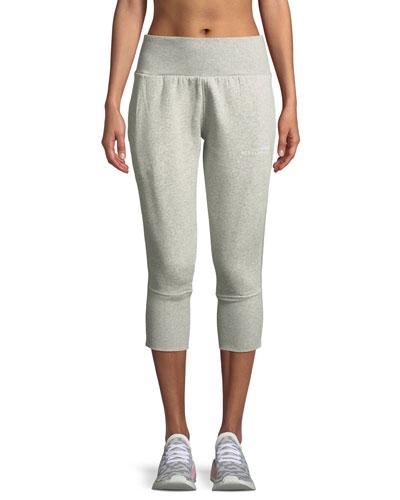 Essentials High-Waist 3/4 Sweatpants