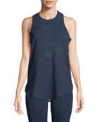 Soft Nylon Mesh Yoga, Blue