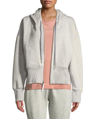 Essentials Zip-Front Cotton Fleece Hoodie
