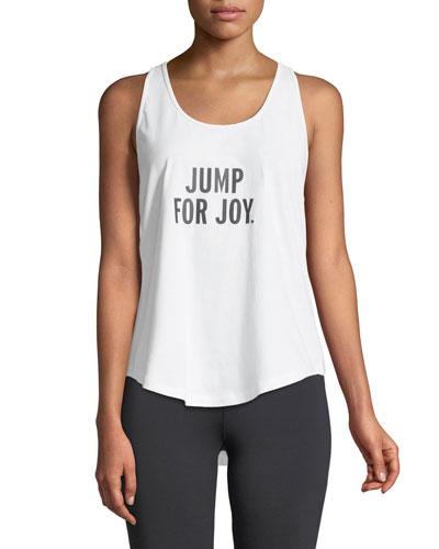 jump for joy performance tank