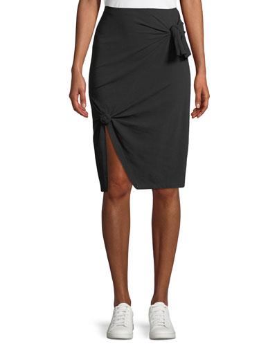 A-line Knot Skirt