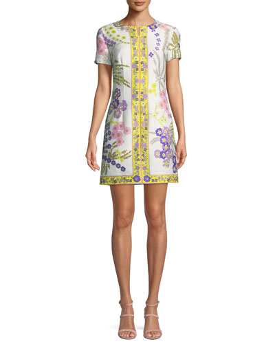 Arboretum Crescent Drive Ottoman Mini Dress