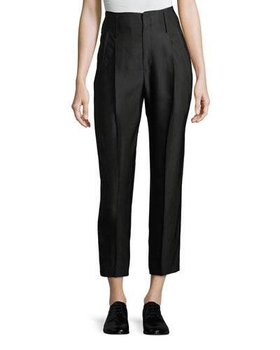 Cannette Pants w/ Center Pleats
