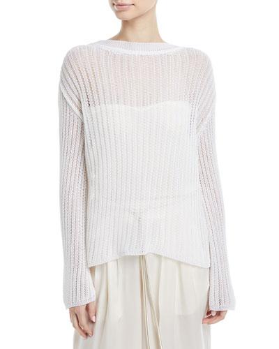 V-Back Neckline Sweater