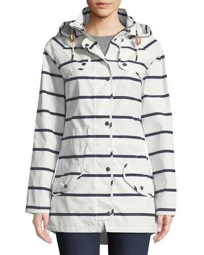 Stripe Trevose Jacket w/ Removable Hood