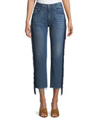 3x1 W3 Higher Ground Straight Crop Jeans with