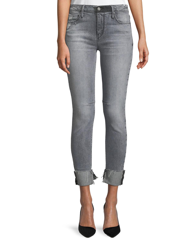 Nova Mid-Rise Skinny-Leg Jeans