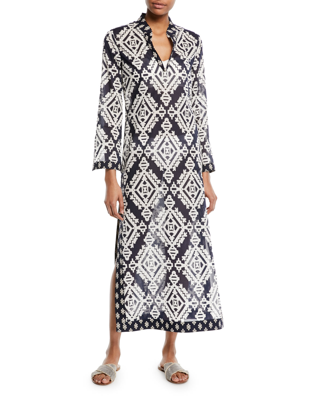 Stephanie Maxi Caftan Coverup Dress