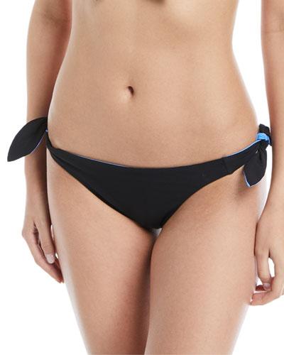 Biarritz Tie-Sides Reversible Swim Bottoms