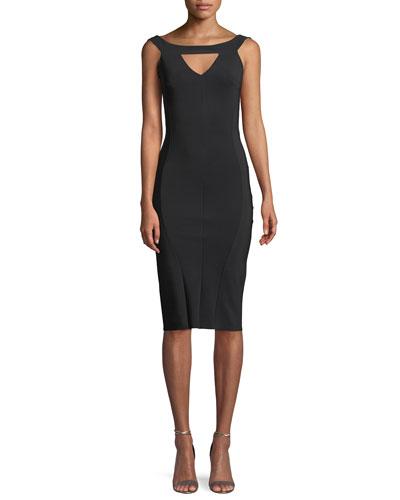 Delina Cutout Sleeveless Dress