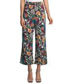 Eira Multi-Printed Wide-Leg Pants