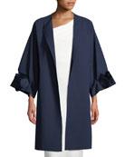 Malyn Rose Open-Front Topper Coat