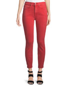 ALICE + OLIVIA JEANS Good High-Rise Ankle-Length Skinny