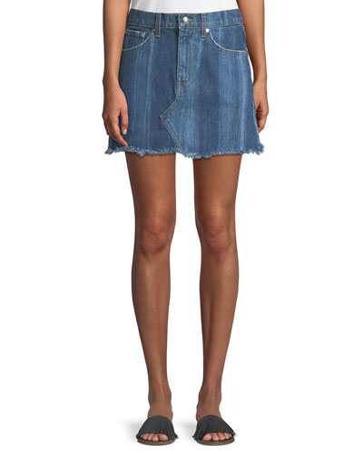 Cleo Denim Mini Skirt