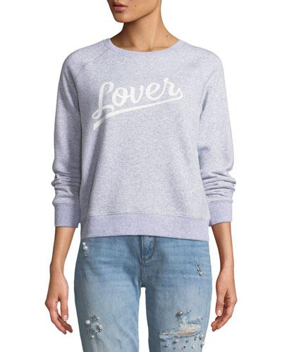 Lover Crewneck Raglan Sweatshirt