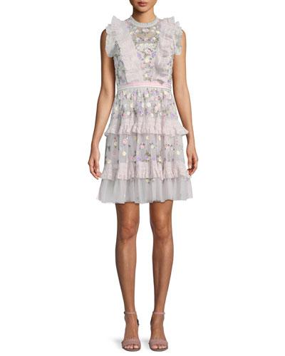 Prism Ditsy Mini Dress