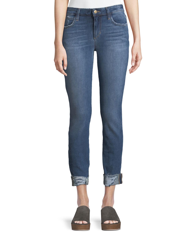 Icon Aisha Skinny-Leg Crop Jeans