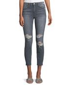 Charlie Ankle Destroy Jeans