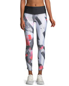 Fly Fast Printed Performance Leggings