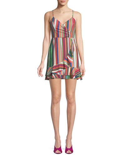 11a831d3b98d Quick Look. Parker · Jay Sweetheart Sleeveless Striped Linen Dress