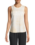 Varsity Graphic Muscle Tank