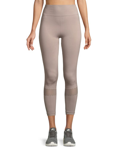 Justin High-Waist Cropped Performance Tights