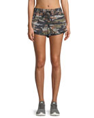 Striped Camo Running Shorts