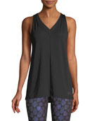 Vision V-Neck Performance Tank w/ Mesh