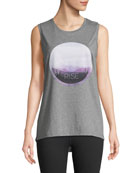 Rise Heathered Graphic Tank