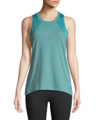 Reactor Mesh-Panel Tank Top, Bristol Blue