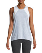 Reactor Mesh-Panel Tank Top, Light Gray