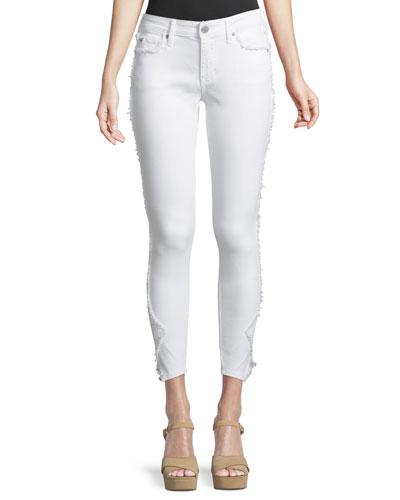 Jennie Curvy Skinny Crop Jeans