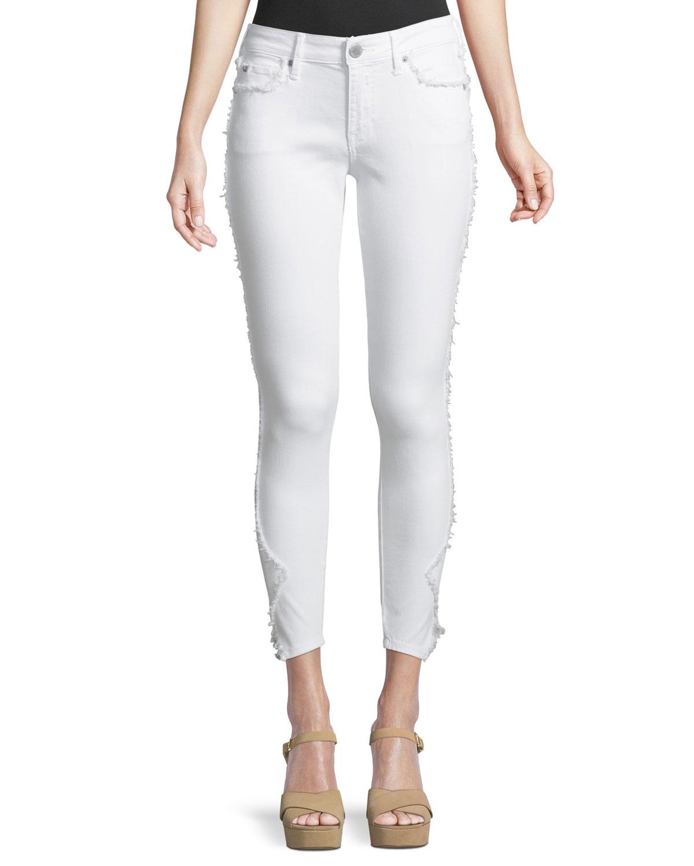 Jennie Curvy Skinny-Leg Crop Jeans