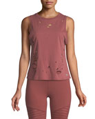 Harley Distressed Muscle Tank Top