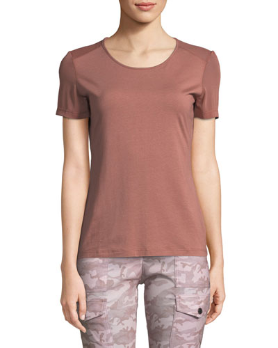 Summer Melissa Sheer Tee