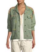The Sergeant Button-Down Cotton Jacket