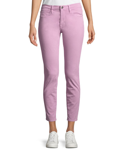 Le High Skinny Stretch-Twill Jeans