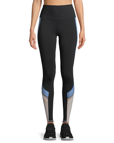 Elevate Contrast-Panel Sport Leggings