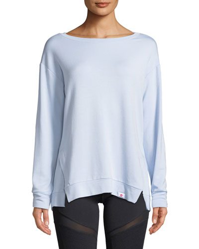 Soothe Tieback Pullover Sweatshirt