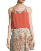 Brush with The Law Silk Camisole